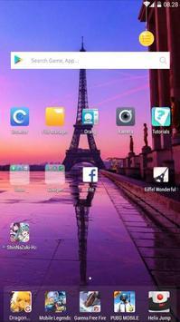 Eiffel Wonderful Wallpaper screenshot 3