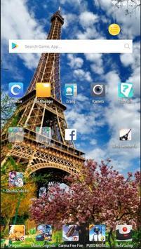 Eiffel Wonderful Wallpaper screenshot 1