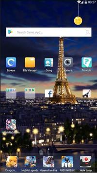 Eiffel Wonderful Wallpaper screenshot 2