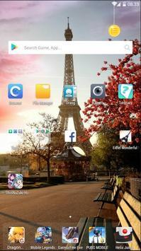 Eiffel Wonderful Wallpaper screenshot 4