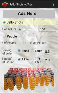 Jello Shots w/Ads poster