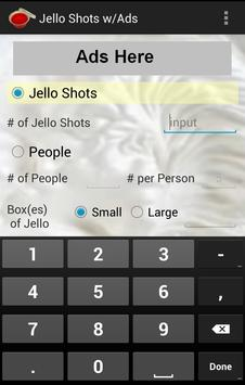 Jello Shots w/Ads screenshot 2