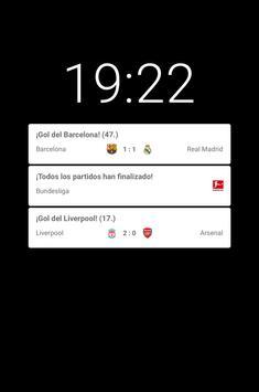 GoalAlert captura de pantalla 9