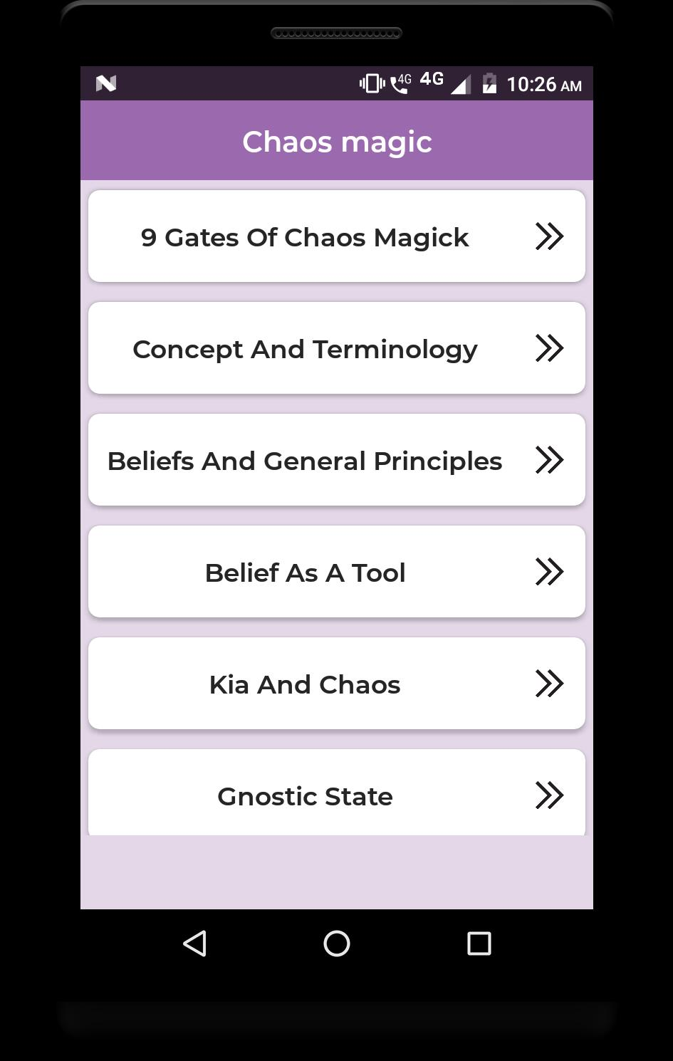 Chaos magic for Android - APK Download