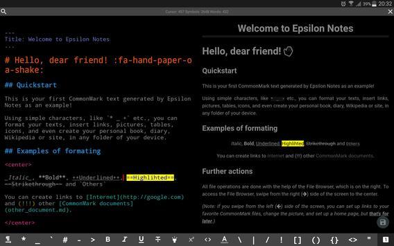 Epsilon Notes Ekran Görüntüsü 5
