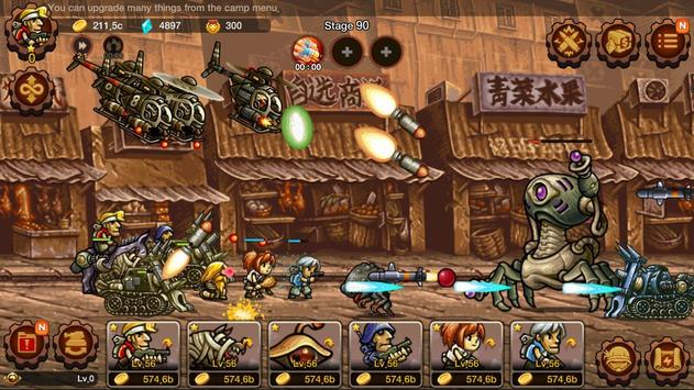 Metal Slug Infinity: Idle Game imagem de tela 6