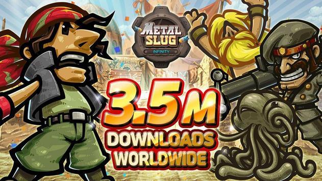 Metal Slug Infinity: Idle Role Playing Game poster