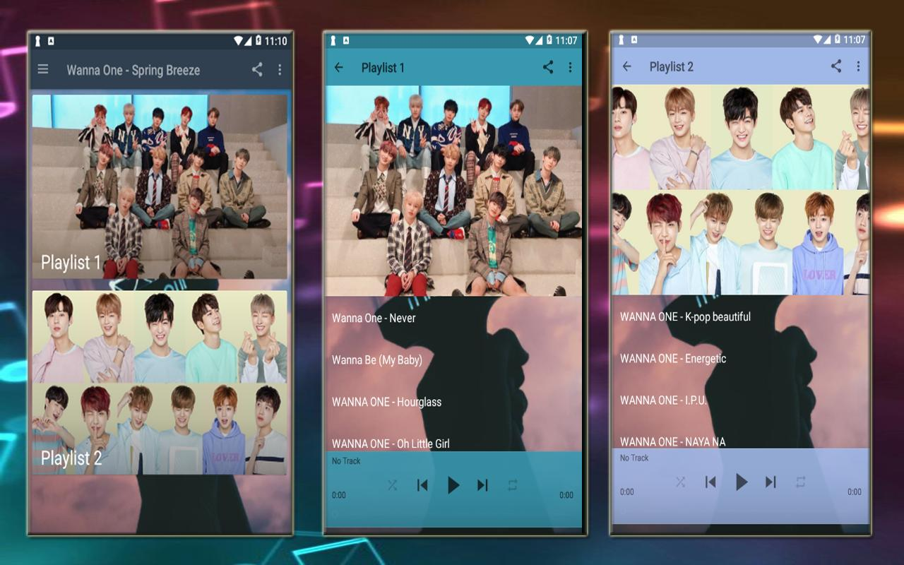 Wanna One Spring Breeze For Android Apk Download