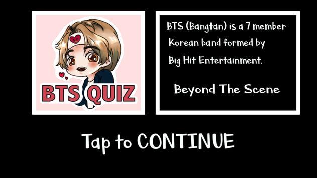 BTS Quiz screenshot 2