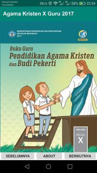 Agama Kristen Kelas 10 Guru 2017 poster