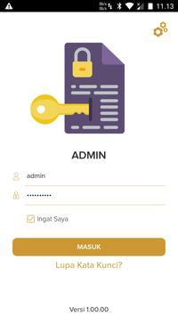 eKORPRI Admin poster