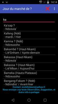 Bamileke's Local Calendars screenshot 4