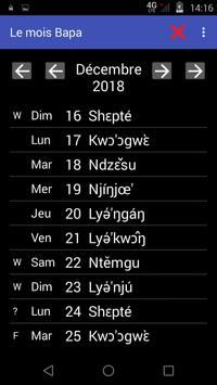 Bamileke's Local Calendars screenshot 6