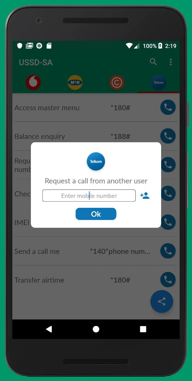 USSDSA -vodacom, MTN, Cell C, Telkom for Android - APK Download
