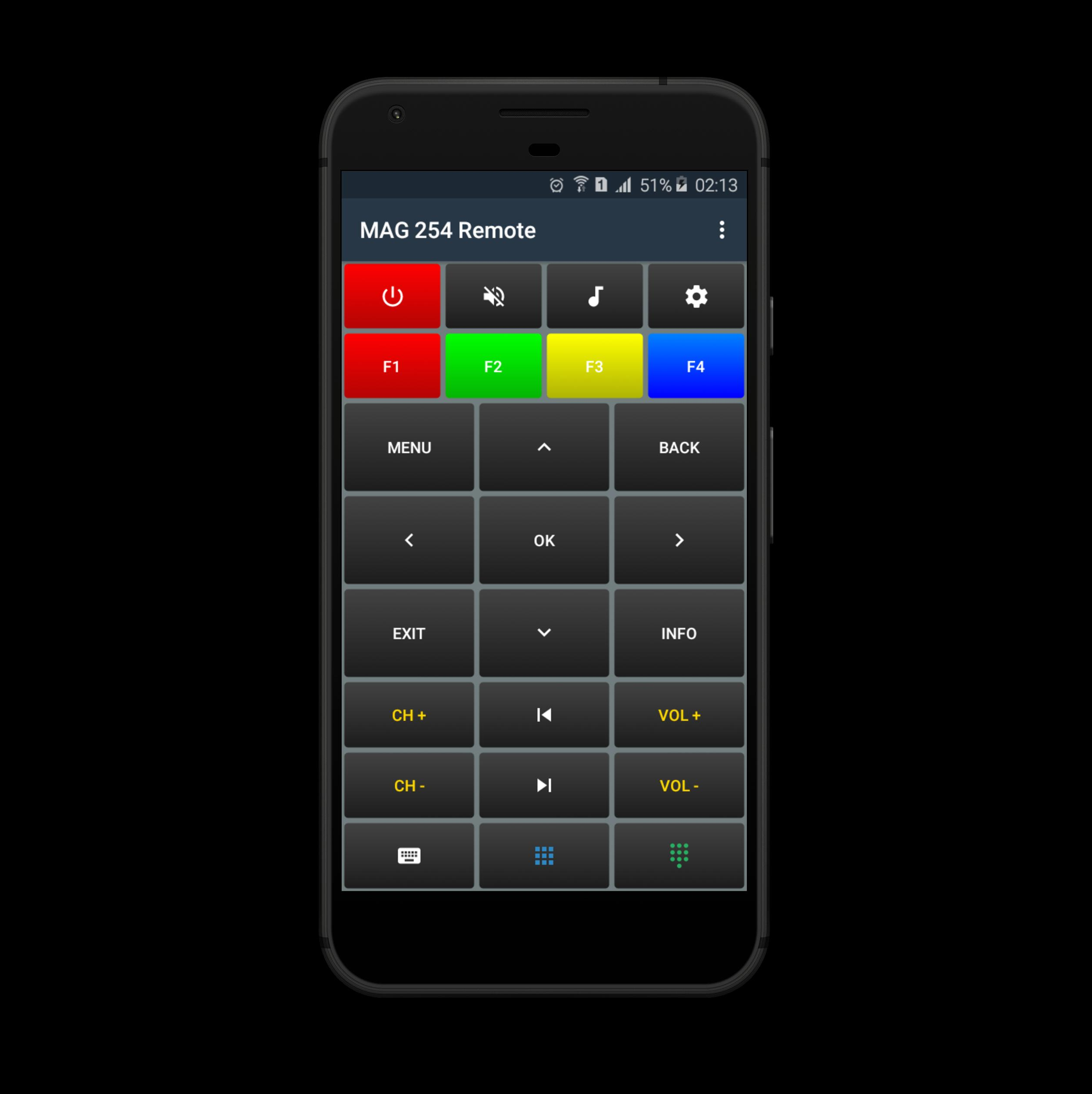 MAG 254 Remote for Android - APK Download