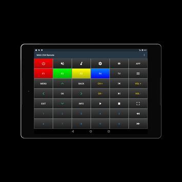 MAG 254 Remote screenshot 6