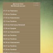 Расписание электричек (виджет) icon