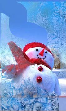 Snowman Cool live wallpaper screenshot 1