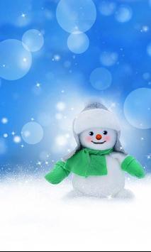 Snowman Cool live wallpaper screenshot 2