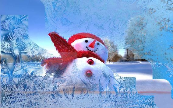 Snowman Cool live wallpaper screenshot 5