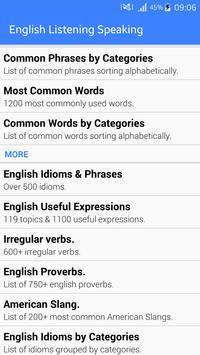 English Listening & Speaking screenshot 1