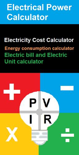 Electric Bill Calculator Lite Energy Cost For Android Apk Download