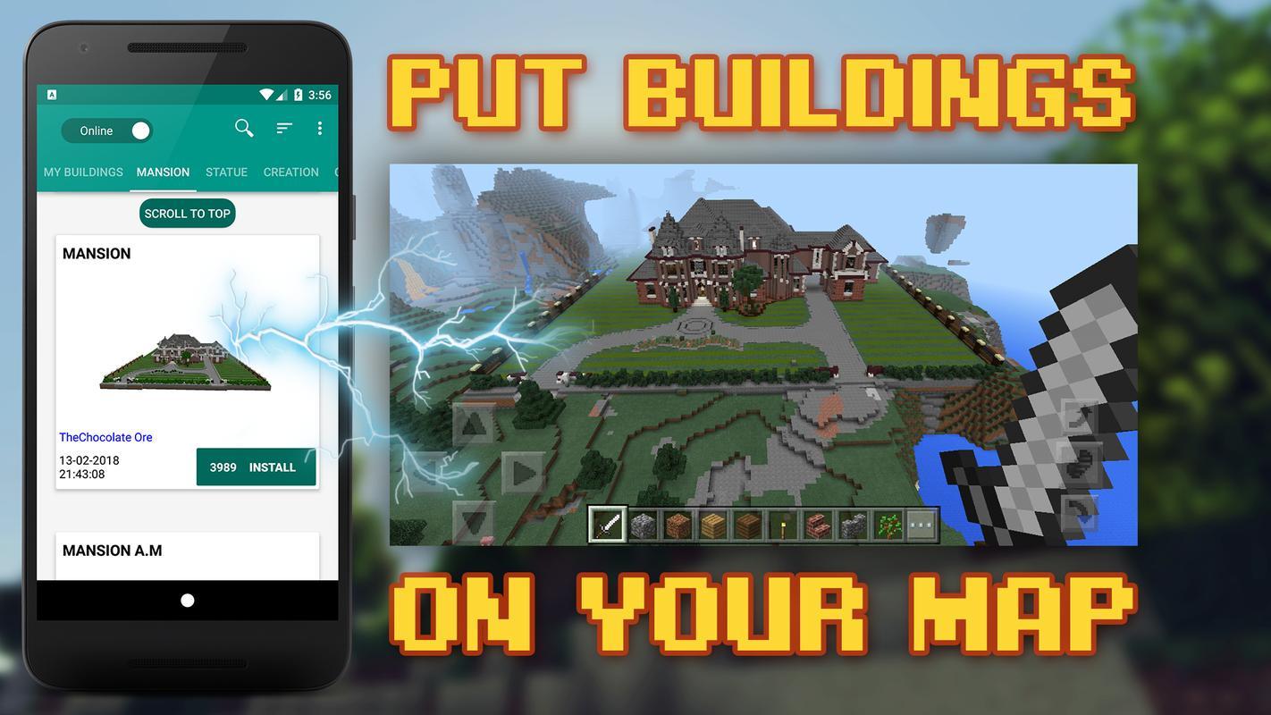 Building for minecraft pe pro apk