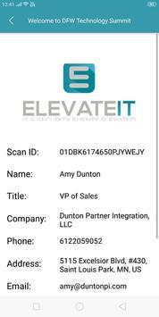ElevateIT - Badge Scanner App poster