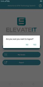 ElevateIT - Badge Scanner App screenshot 3