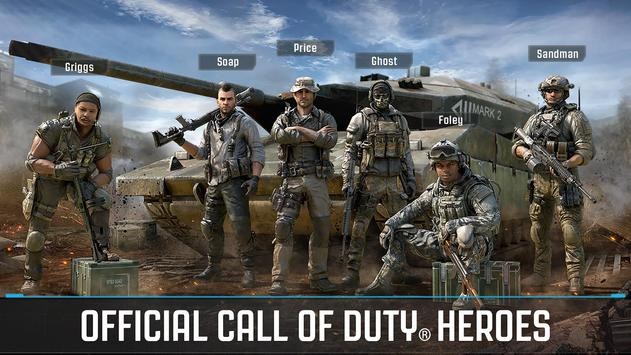 call of duty heroes mod apk and data