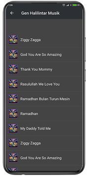 Lagu Gen Halilintar Offline + Lirik screenshot 1