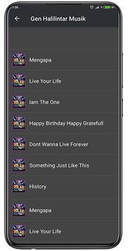 Lagu Gen Halilintar Offline + Lirik screenshot 2