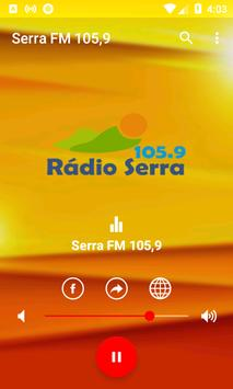 Rádio Serra FM 105,9 screenshot 1