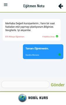 Mobil Kurs screenshot 4