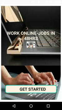 Poster Work Online - Jobs in 48hrs