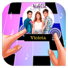 ikon Piano Tiles Violeta
