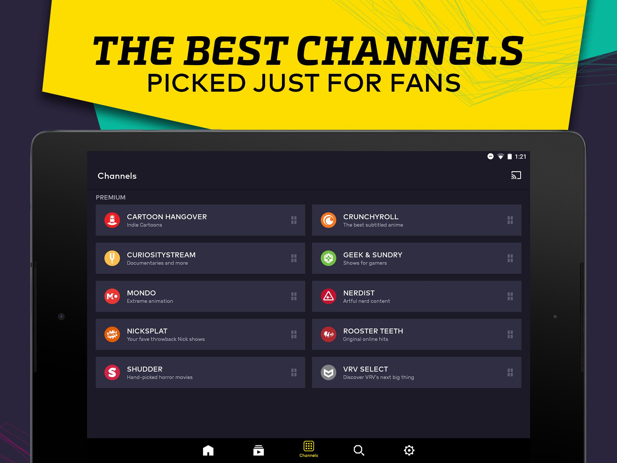 VRV for Android - APK Download