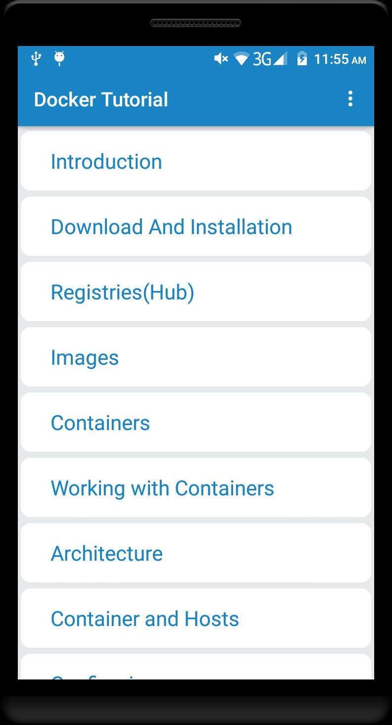 Docker Tutorial for Android - APK Download