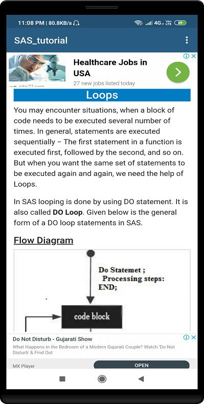 SAS Tutorial for Android - APK Download