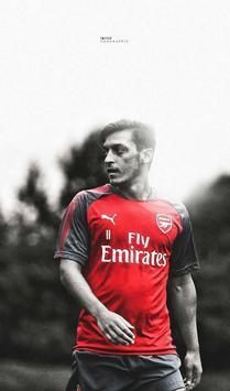 Mesut Ozil 4K Wallpaper poster
