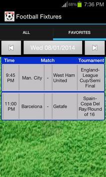 Football Fixtures screenshot 6