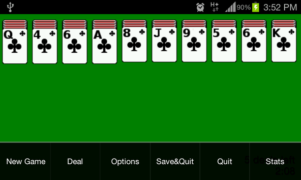 Spider Solitaire screenshot 1