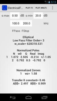 ElectricalFilters2 screenshot 1