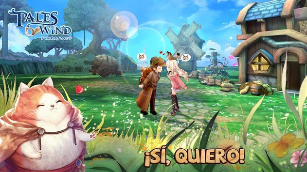 Tales of Wind captura de pantalla 2