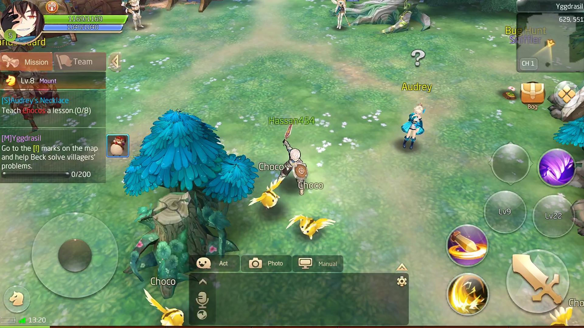 Tales of Wind screenshot 1