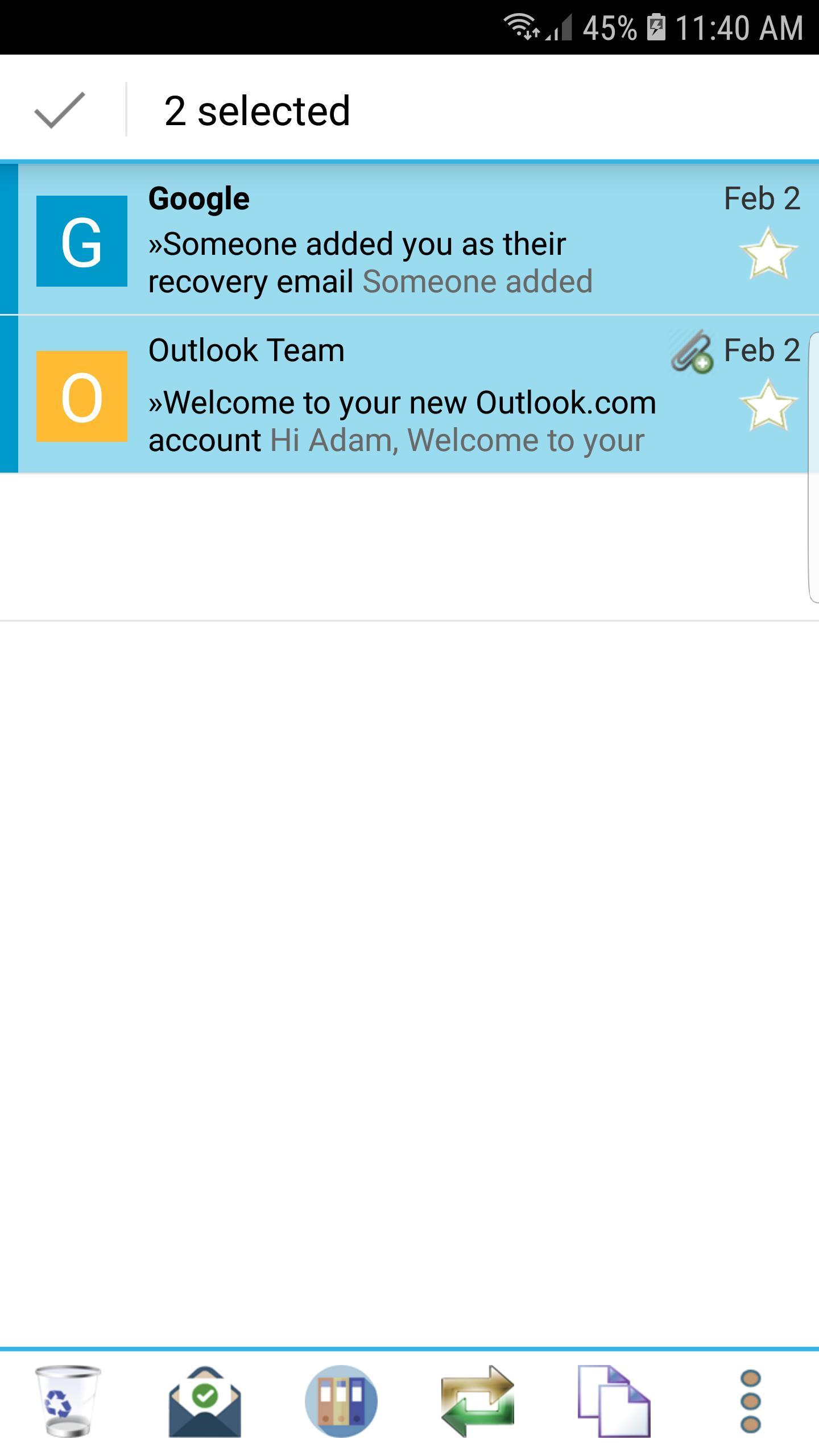 Email for Hotmail - Outlook App cho Android - Tải về APK
