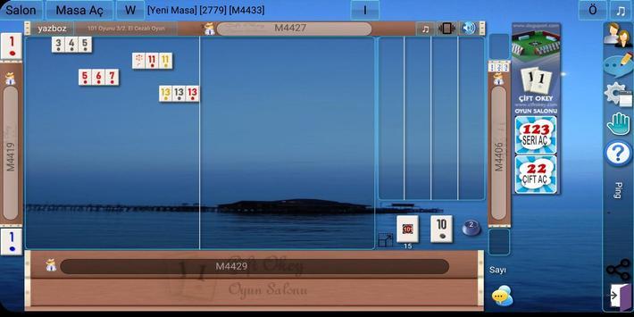 101 Okey Domino hakkarim.net screenshot 3
