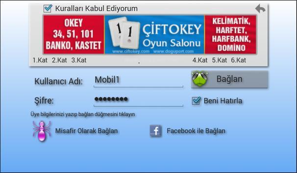 101 Okey Domino hakkarim.net screenshot 12