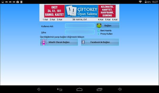 101 Okey Domino hakkarim.net screenshot 13