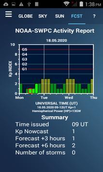 Aurora Forecast 3D स्क्रीनशॉट 3